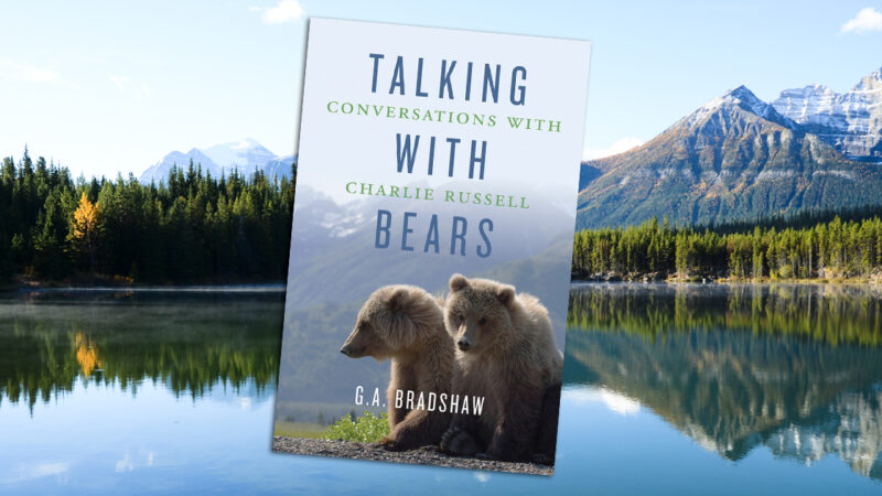 G. A. Bradshaw pays tribute to Charlie Russell in Talking With Bears.
